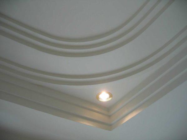 Amenagement interieur staff led Loudeac - Intégration de lumières (spots LED ou guirlande)