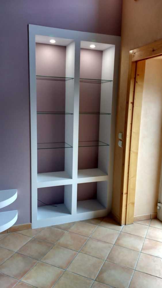 Amenagement interieur staff meuble Loudeac 2 - Meuble sur mesure