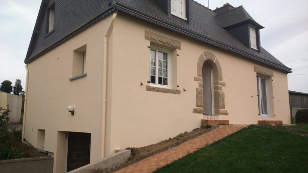 Isolation exterieure RGE thermique enduit Loudeac Pontivy - Accueil