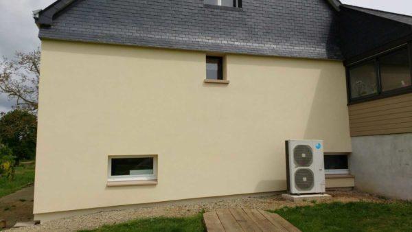 Isolation exterieure RGE thermique enduit Loudeac Pontivy 26 - Chantiers terminés
