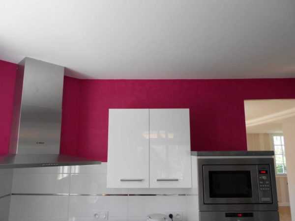 Peinture interieure mur plafond boiseries Loudeac Pontivy - Cuisine