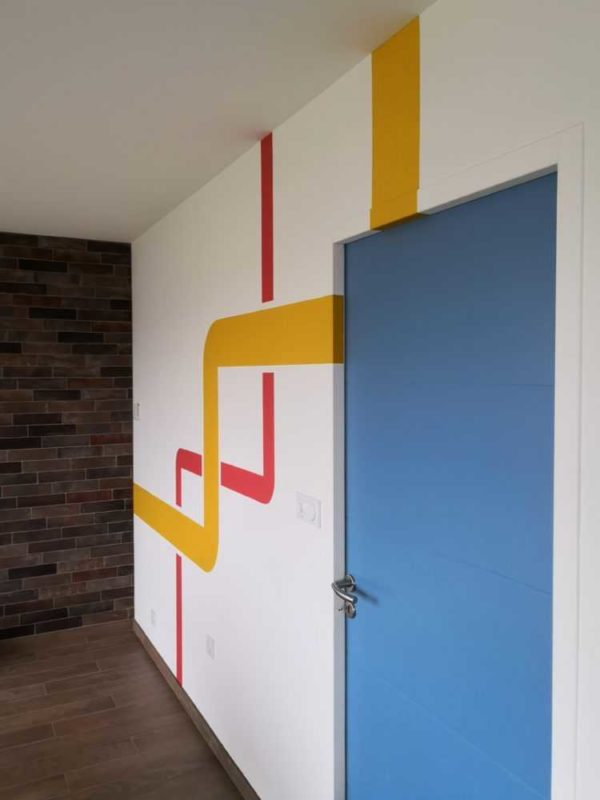Peinture interieure mur plafond boiseries Loudeac Pontivy 8 1 - Mur