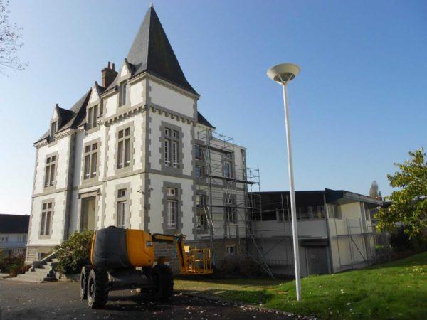Ravalement facade peinture exterieure Loudeac Pontivy 10 - Ravalement immeuble