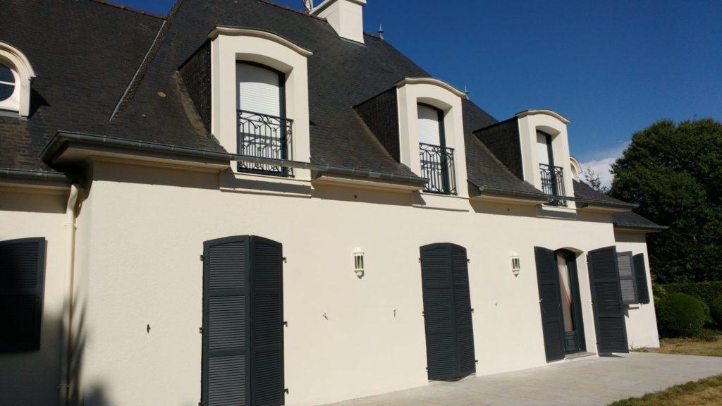 Ravalement facade peinture exterieure Loudeac Pontivy - Accueil