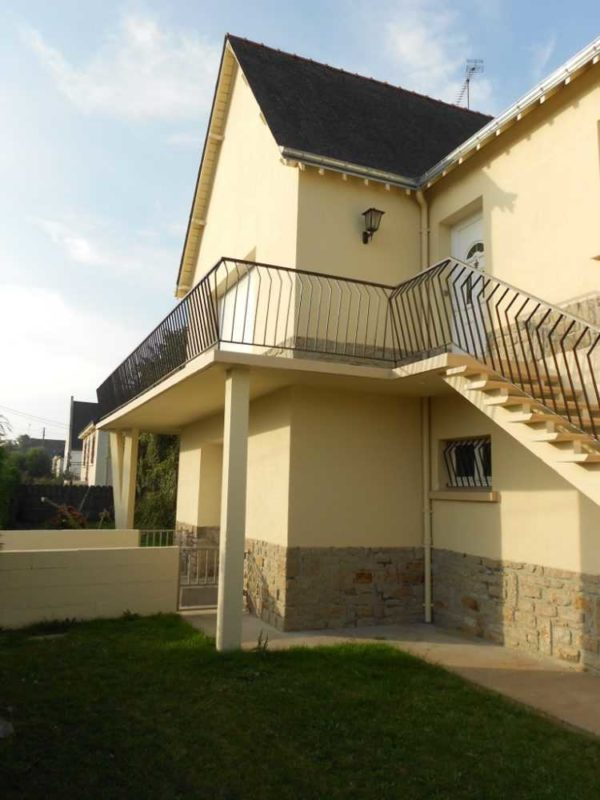 Ravalement facade peinture exterieure Loudeac Pontivy 11 - Ravalement maison