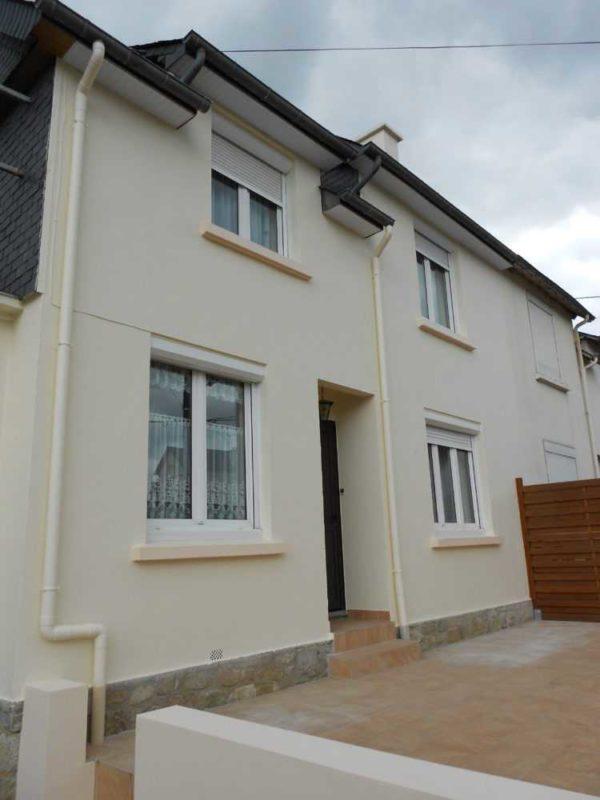 Ravalement facade peinture exterieure Loudeac Pontivy 13 - Ravalement maison