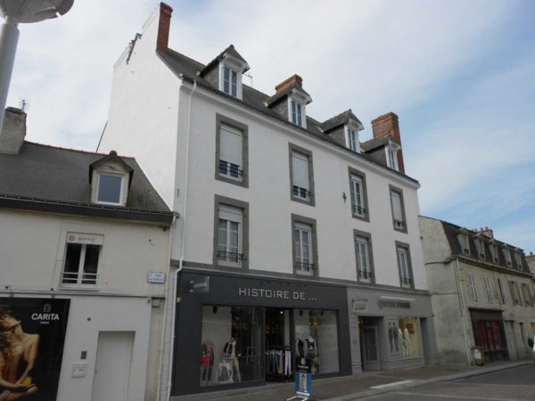 Ravalement facade peinture exterieure Loudeac Pontivy 16 1 - Ravalement immeuble