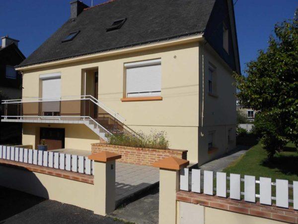 Ravalement facade peinture exterieure Loudeac Pontivy 20 - Ravalement maison