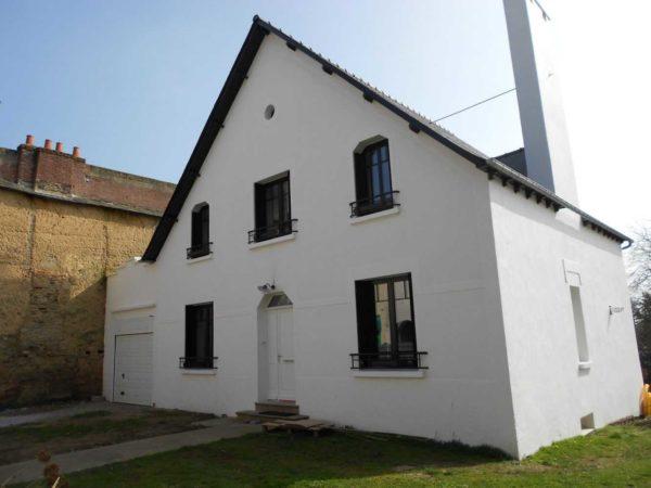 Ravalement facade peinture exterieure Loudeac Pontivy 22 - Ravalement maison