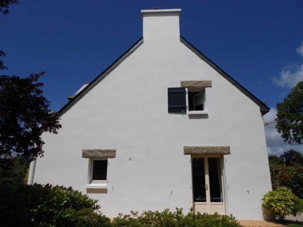 Ravalement facade peinture exterieure Loudeac Pontivy 23 - Ravalement maison