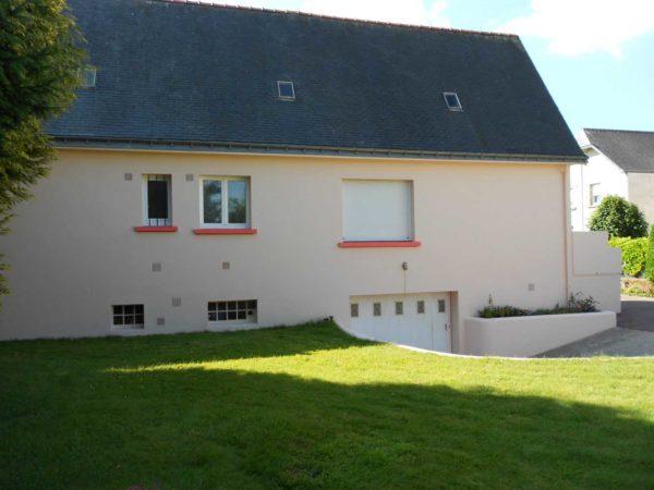 Ravalement facade peinture exterieure Loudeac Pontivy 25 - Ravalement maison