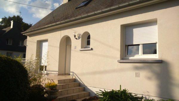 Ravalement facade peinture exterieure Loudeac Pontivy 29 - Ravalement maison