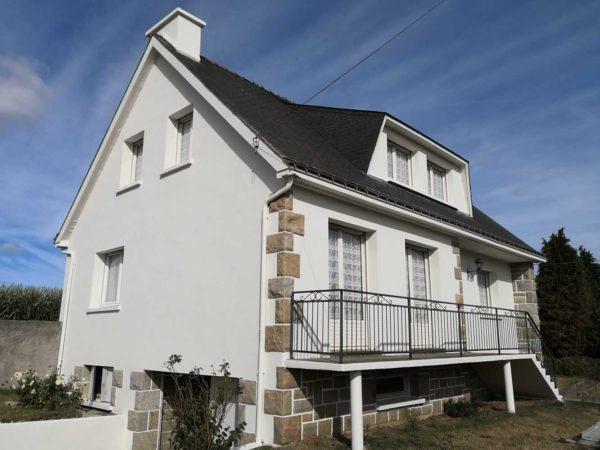 Ravalement facade peinture exterieure Loudeac Pontivy 33 - Ravalement maison