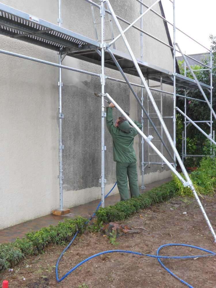 Ravalement facade peinture exterieure Loudeac Pontivy 4 - Ravalement de façade