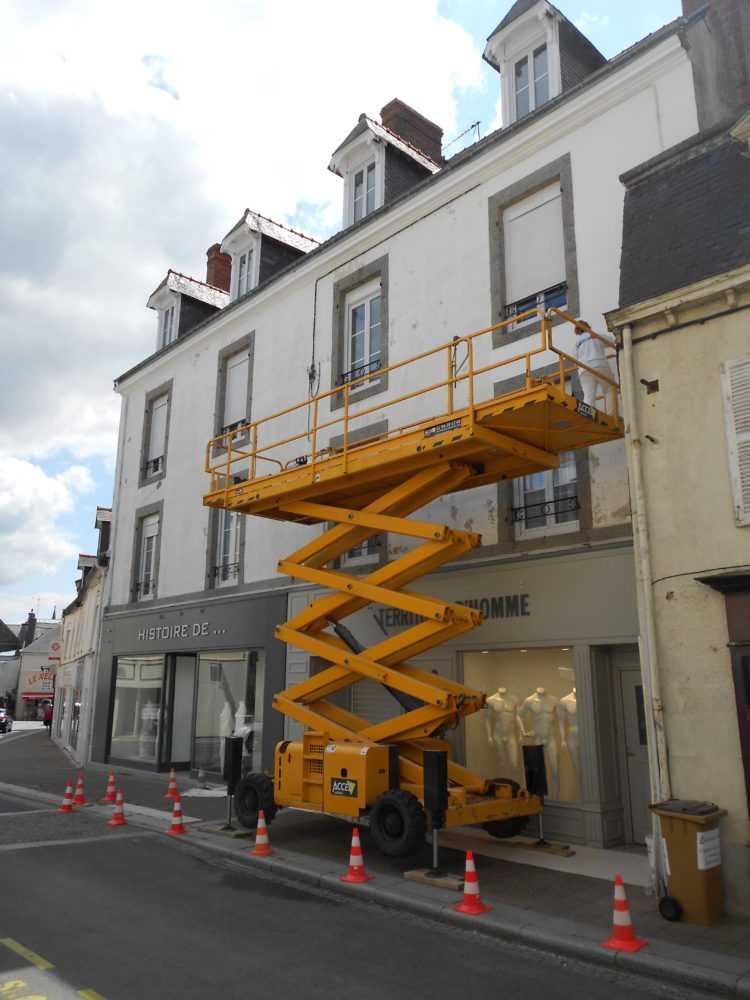 Ravalement facade peinture exterieure Loudeac Pontivy 5 - Ravalement de façade