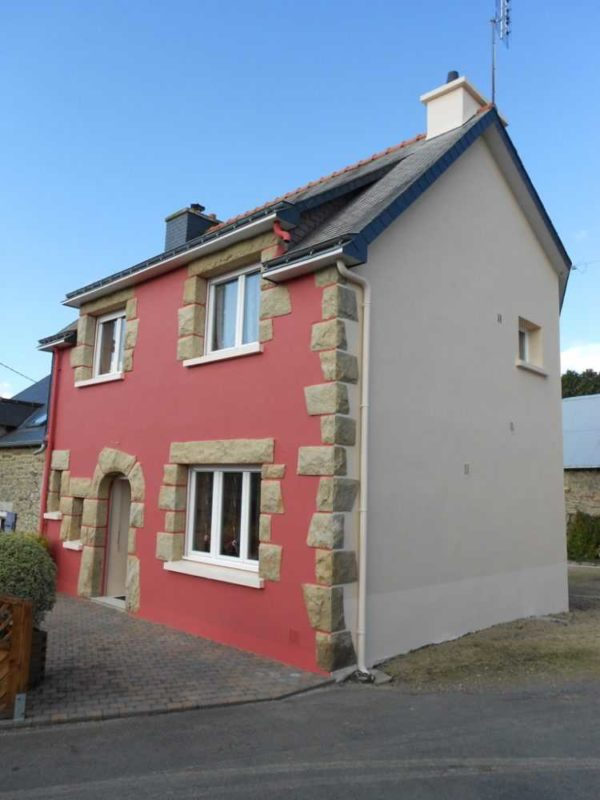 Ravalement facade peinture exterieure Loudeac Pontivy 9 - Ravalement maison